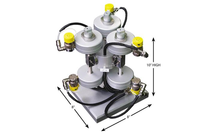 40,000 psi Ultra-High Pressure Injector System 超高壓注入系統